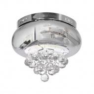 Plafon 28x35cm Milagro Lux Chrome srebrna