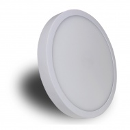Plafon 30x30x4 cm Light Prestige Loria biały