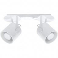 Plafon 35x12x19cm Sollux Lighting Larosa2 biały