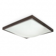 Plafon 41x41cm Sollux Lighting Studio wenge