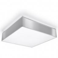 Plafon 45x45cm Sollux Lighting Horus szary