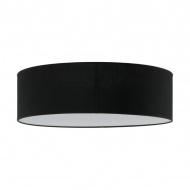 Plafon Iglo 40cm Lampex czarny