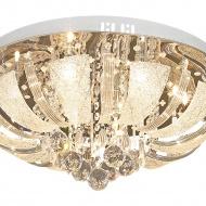 Plafon Odessa Lampex srebrny