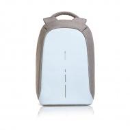 Plecak antykradzieżowy 42cm XDDesign Bobby Compact niebiesko-szary