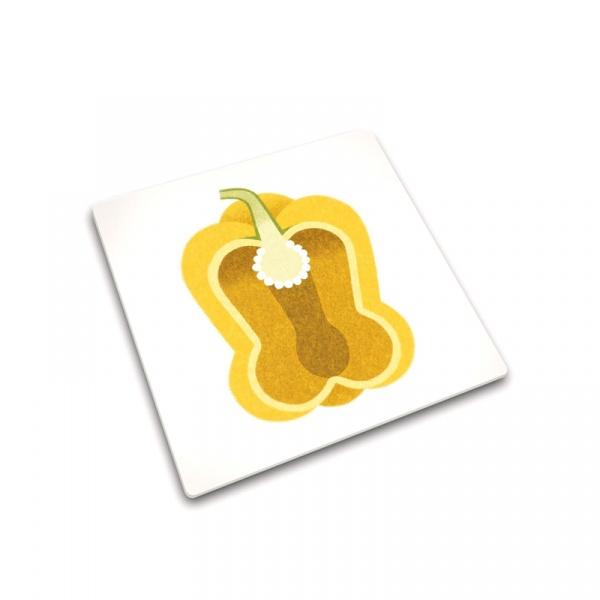 Podkładka kwadratowa Yellow Pepper 30 x 30 cm Joseph Joseph Worktop Savers 90095