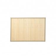 Podkładka na stół bambusowa 45 x 30 cm Kela Casa beżowa