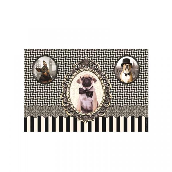Podkładka na stół Nuova R2S Happy Life 350 DOGS