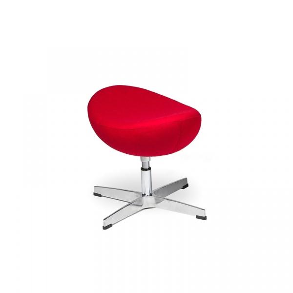 Podnóżek do fotela Egg King Bath czerwony JH-027.CZERWONY.17