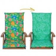 Poduszka na Krzesło ogrodowe Dwustronna : Kolor - 724-03/726-05