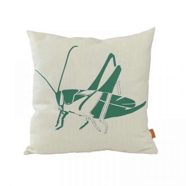 Poduszka Pasikonik 50x50cm Gie El Botanica zielony APL0152