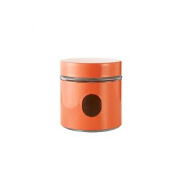 Pojemnik 0,75 l Brandani Jar pomarańczowy 56931