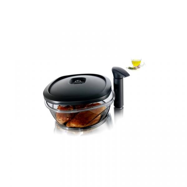 Pojemnik do marynowania Tomorrow's Kitchen czarny TK-2977460