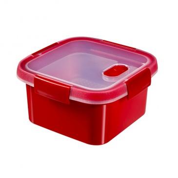 Pojemnik do mikrofalówki (1,2 L) Curver (czerwony) 232584