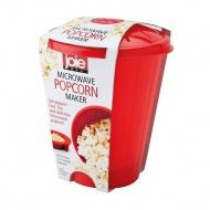 Pojemnik do robienia popcornu w mikrofalówce 18x14 cm MSC czerwony