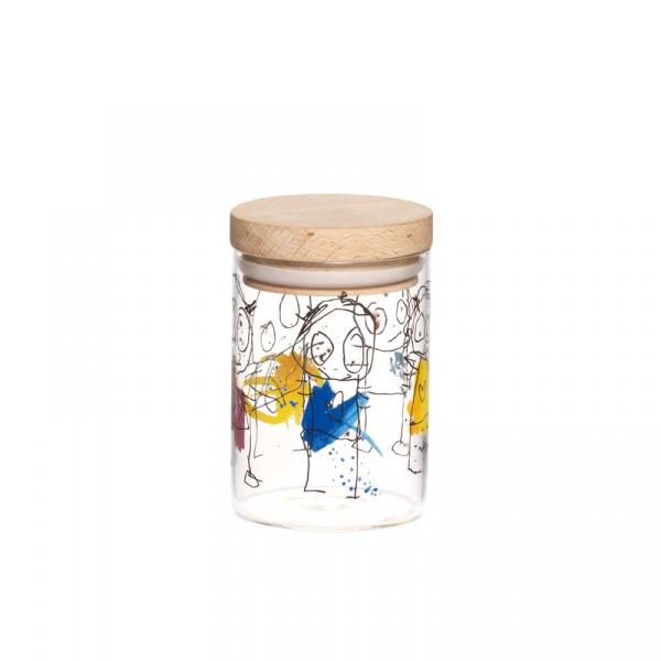 Pojemnik kuchenny mini z drewnianą pokrywką Aida Denmark Original Icons A20443