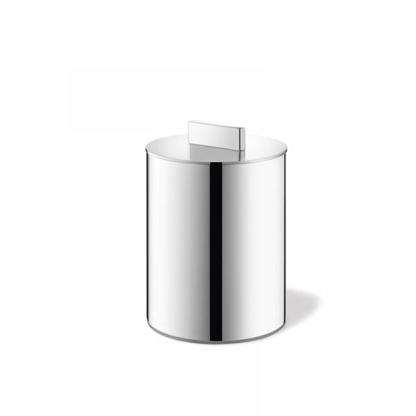 Pojemnik łazienkowy na patyczki higieniczne Zack Avor polerowany ZACK-40323