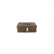 Pojemnik na chusteczki Rustic Rattan Tissue Box Holder Riviera Maison