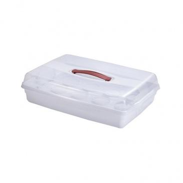 Pojemnik na ciasto / muffiny Curver biały CUR-219975