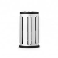 Pojemnik na kapsuły kawowe stal matowa 19,5cm Brabantia srebrny