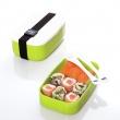 Pojemnik na lunch + sztućce Zak! Designs zielony 0204-840