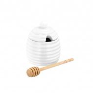 Pojemnik na miód z łyżeczką 200 ml Judge Table biały