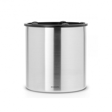 Pojemnik kuchenny na narzędzia 15,5cm Brabantia srebrno-czarny