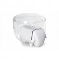 Pojemnik na waciki Sheepshape biały 10227-WH-CL