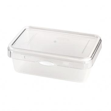 Pojemnik na żywność1100ml Foodie Push&Push biały 26544