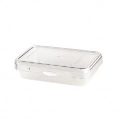Pojemnik na żywność800ml Foodie Push&Push biały 26537
