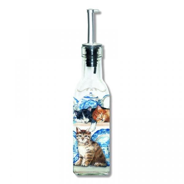 Pojemnik olej/ocet z dozownikiem Nuova R2S Glass Collection BOT150 .820