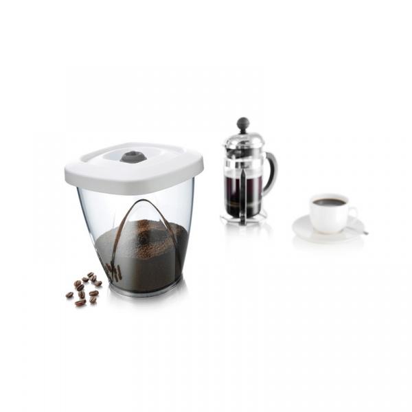 Pojemnik Próżniowy M 1,3L Tomorrows Kitchen biały TK-28733606