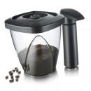 Pojemnik próżniowy na kawę lub herbatę z pompką Tommorow's Kitchen 1,3l