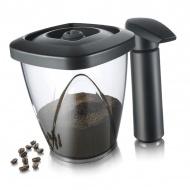 Pojemnik próżniowy na kawę lub herbatę z pompką Tomorrows Kitchen 1,3l