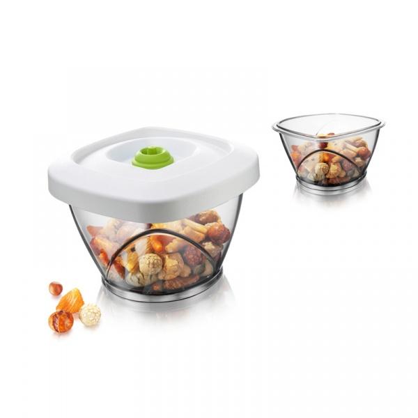 Pojemnik próżniowy S 0,65 l Tomorrows Kitchen biały TK-28713606
