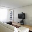 Półka pod TV z maskownicą Ghost Design 2000 z rotacją Meliconi carbon 488088