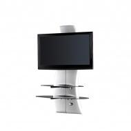 Półka pod TV z maskownicą Meliconi Ghost Design 2000 biała