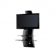 Półka pod TV z maskownicą Meliconi Ghost Design 2000 czarna