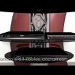Półka pod TV z maskownicą Meliconi Ghost Design 2000 czarna 488064
