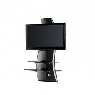 Półka pod TV z maskownicą Meliconi Ghost Design 2000 z rotacją carbon