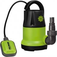 Pompa zanurzeniowa do czystej i brudnej wody 250W Fieldmann zielona