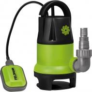 Pompa zanurzeniowa do czystej i brudnej wody 400W Fieldmann zielona