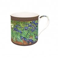 Porcelanowy kubek w opakowaniu 300ml Nuova R2S Art Masterpiece kwiaty