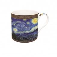 Porcelanowy kubek w opakowaniu 300ml Nuova R2S Art Masterpiece Van Gogh