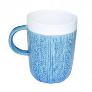 Porcelanowy kubek w opakowaniu Nuova R2S niebieski