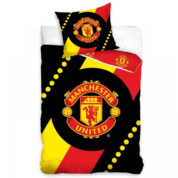 Pościel 160 x 200 cm Carbotex Manchester United Herb (MU8005) 5902022945589