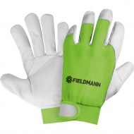 Profesjonalne rękawice robocze XL Fieldmann zielone