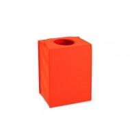 Prostokątna torba/kosz na pranie 55l Brabantia Laundry To Go pomarańczowy