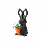 Przybornik biurowy królik Bunny czarny 10115-BK