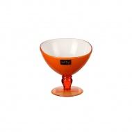 Pucharek deserowy 180 ml pomarańczowy Livio