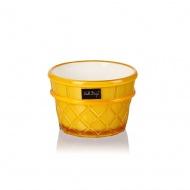 Pucharek deserowy 266 ml żółty Livio